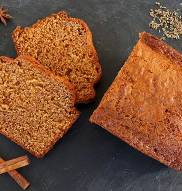 healthy living gingerbread spice cake recipe