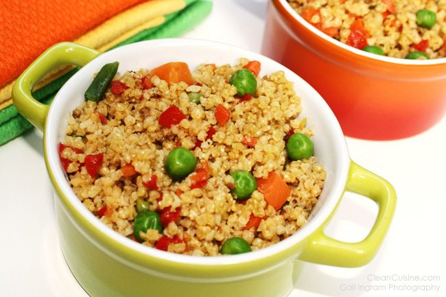 Millet recipes millet fried rice two ways fried rice alterative ccuart Images