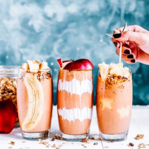 10 No-Milk Shakes with Juice Plus+ Complete