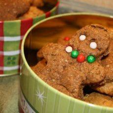 clean eating gingerbread cookie recipe