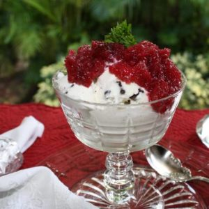 The Easiest Ever Healthy Apple Cranberry Dessert Recipe