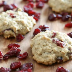 clean eating oatmeal cranberry cookie recipe