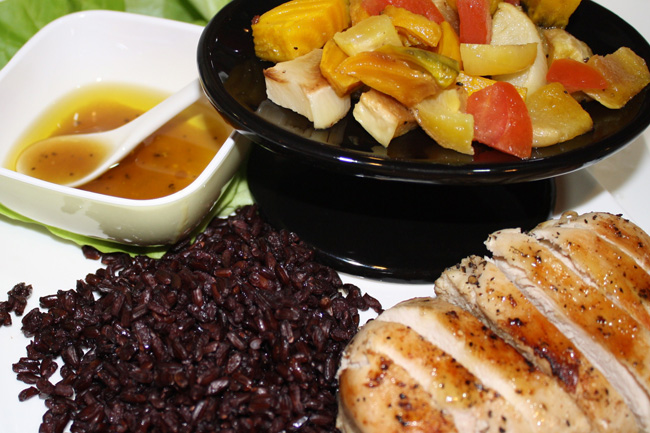 Black Rice & Chicken