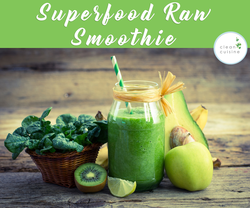 superfood raw smoothie