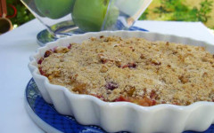 clean eating apple cranberry crisp recipe