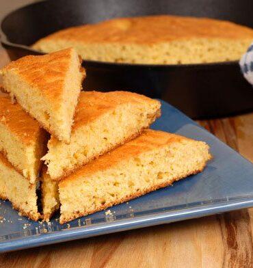 Garbanzo Bean Bread Triangles