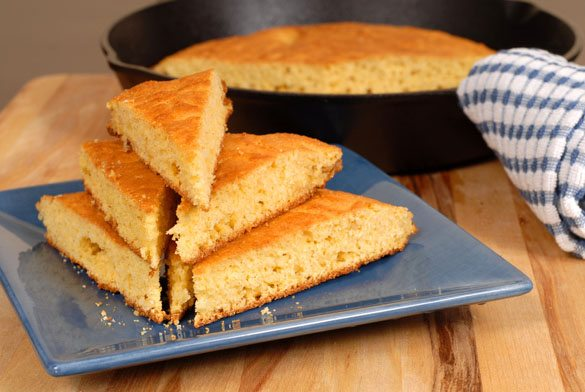 garbanzo bean bread triangles