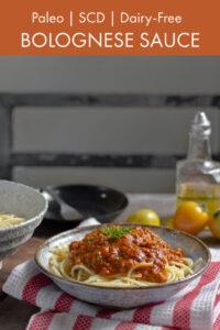 Slower Cooker Bolognese Sauce