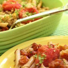 clean eating moms tomato pasta recipe