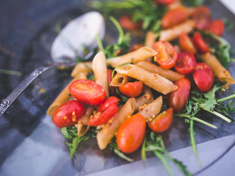 roasted tomatoes dish