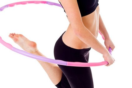 Hula Hoop Fitness Workout