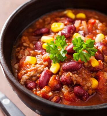 Southwest Slow Cooker Turkey Chili Recipe
