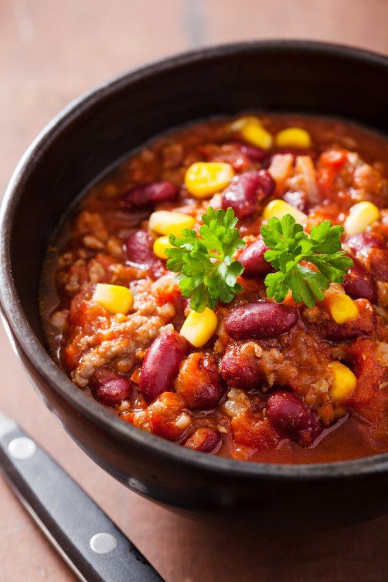 Southwest Slow Cooker Turkey Chili