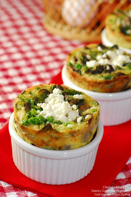 Individual Baked Omelette Souffles
