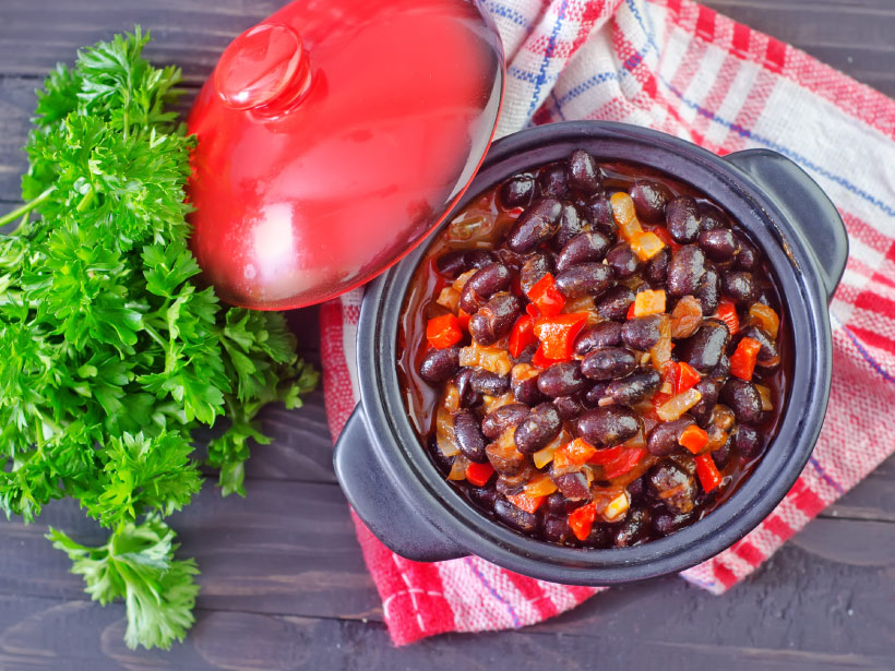 blackbean apple pumpkin chili