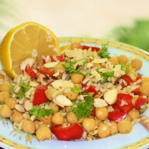 Easy Lunch Recipes with Chickpeas