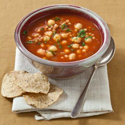 Clean Cuisine Chickpea Soup