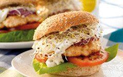 Baked Salmon Burgers