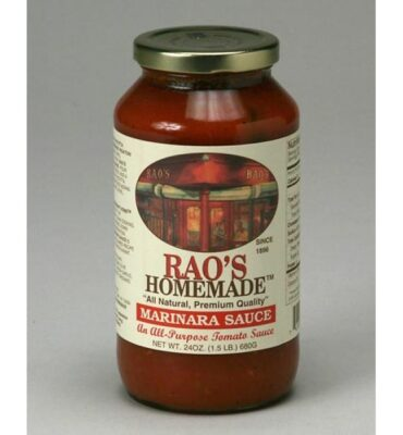 No Time For Your Family's Tomato Sauce? Let Rao's Cook for You!