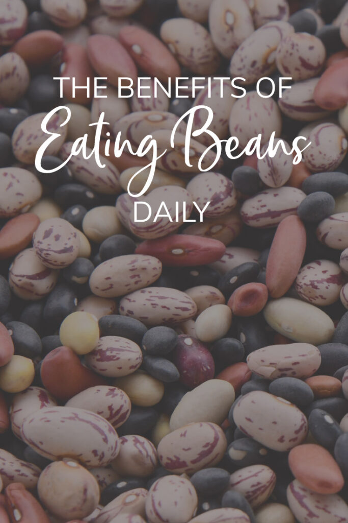 The benefits of eating beans pinterest