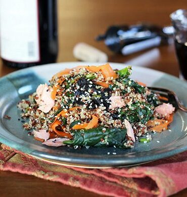 More on Your Thyroid: Nori Quinoa Salad