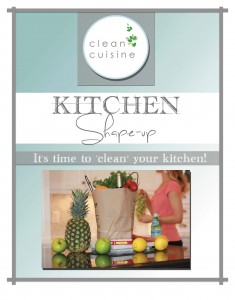 Kitchen Shape-Up Cover