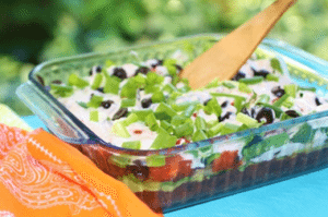 clean eating black bean salad for kids