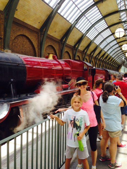 Harry Potter Train at Universal Studios