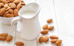 nuts and nut milk