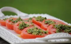 sliced tomato salad recipe