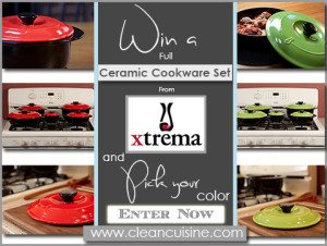 Thank You for Subscribing to our Newsletter and Xtrema Ceramic Cookware by Ceramcor Giveaway!