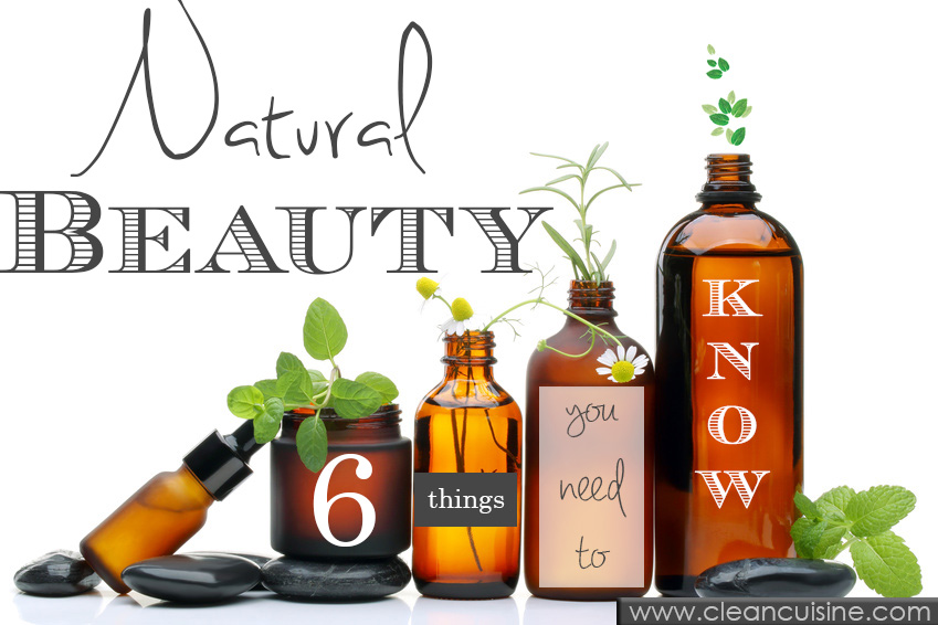 Spa scene with natural cosmetics