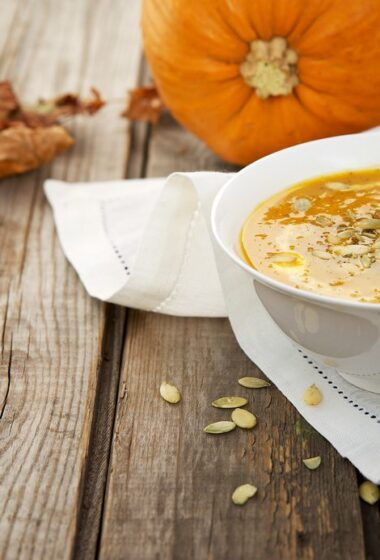 Super Easy Pumpkin Soup Recipe with Chipotle