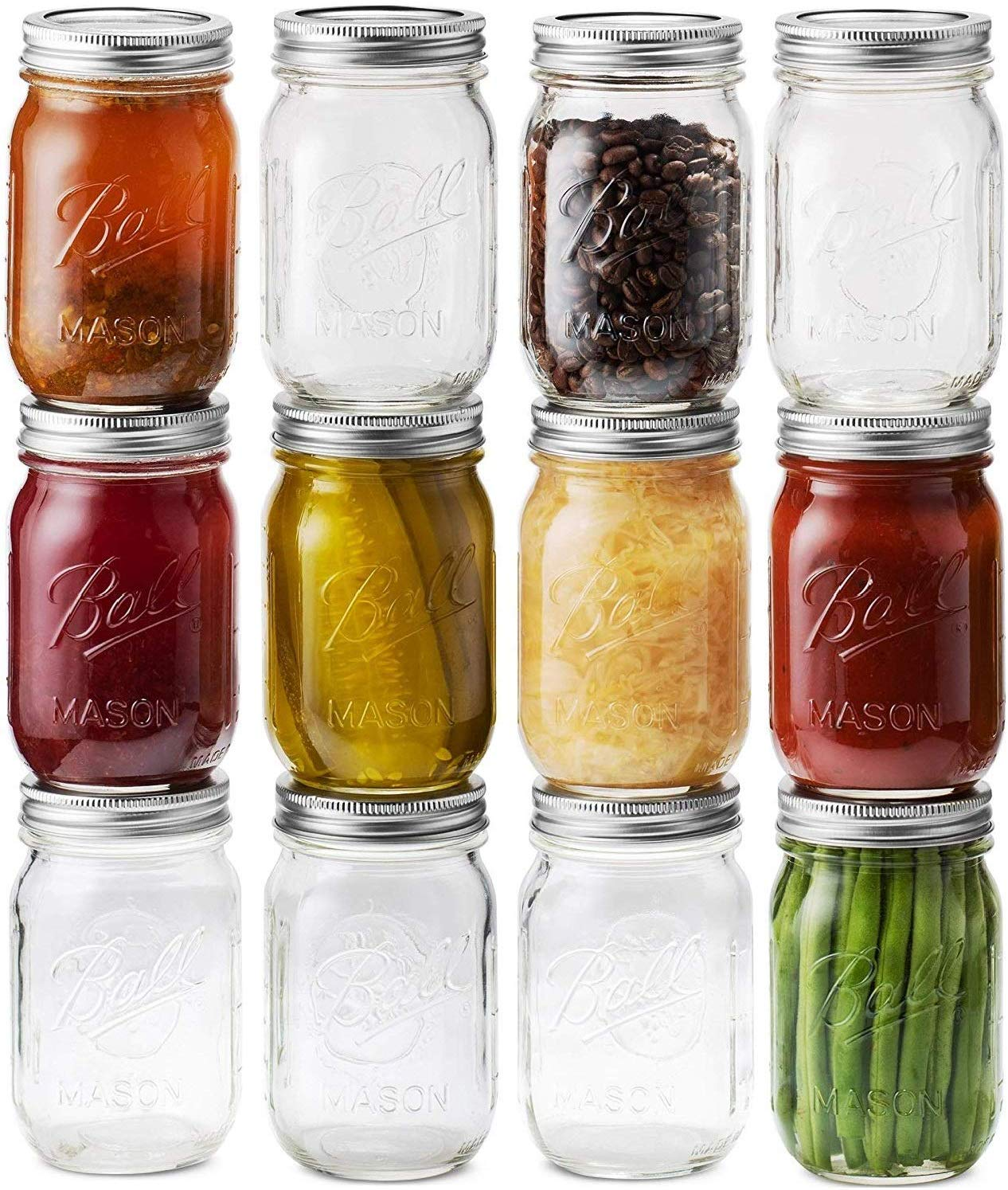 ball canning jars for salad dressing