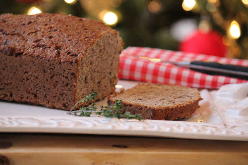 Whole Grain Bread Recipe with Hemp Seeds and Chia Seeds