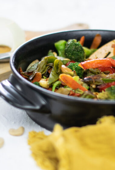 Cashew Chicken Stir Fry Recipe