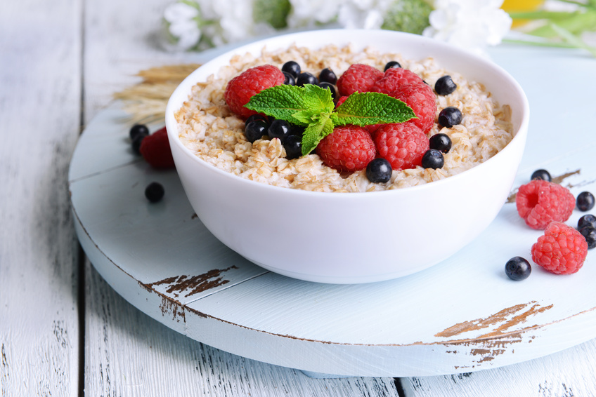 healthy grains with cereal fiber