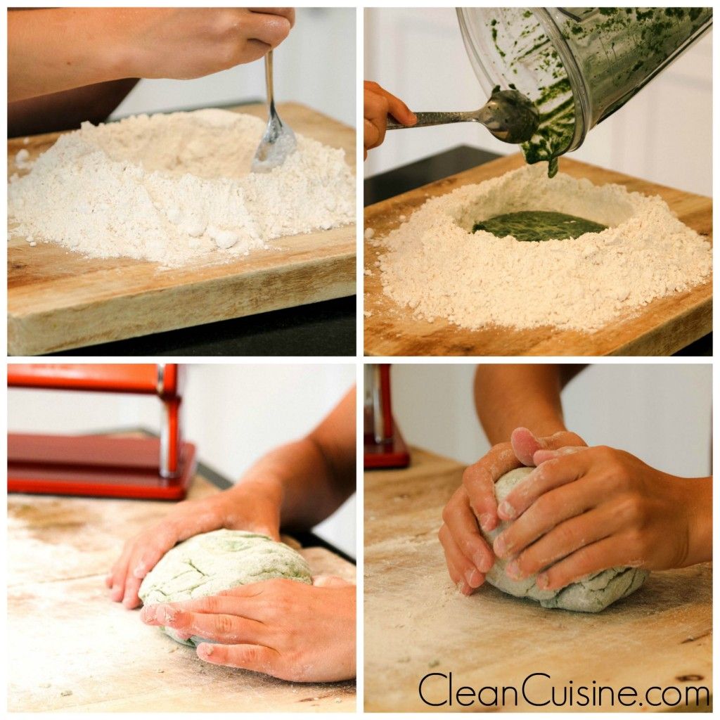 how to make homemade pasta on Clean Cuisine