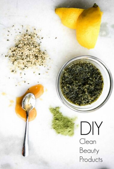 Clean Glow: Recipes for Homemade Beauty Products