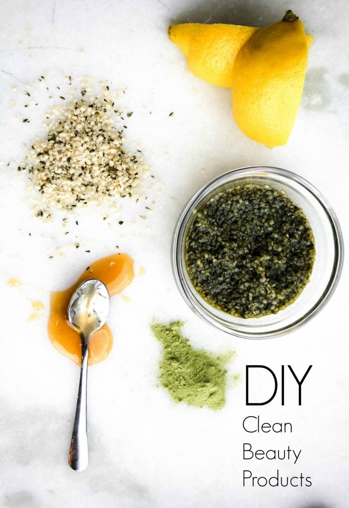 diy clean beauty products