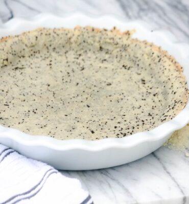 Savory Gluten Free Pie Crust Recipe with Chia Seeds
