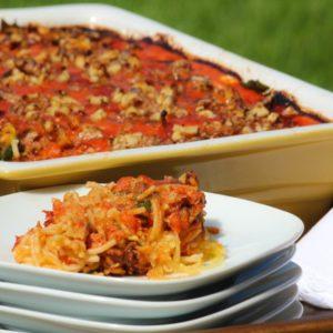 Clean Spaghetti Pie Recipe with Spaghetti Squash