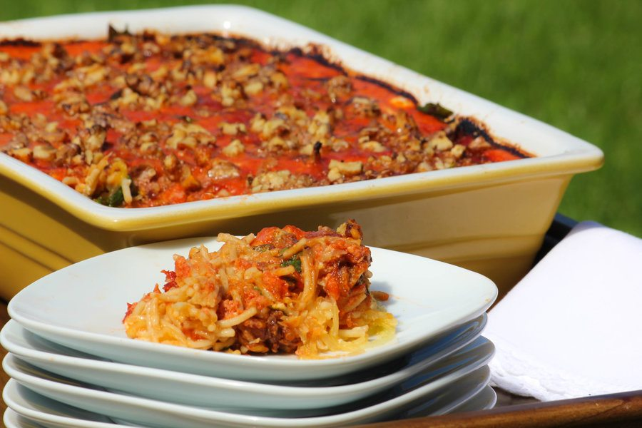 Clean Spaghetti Pie Recipe