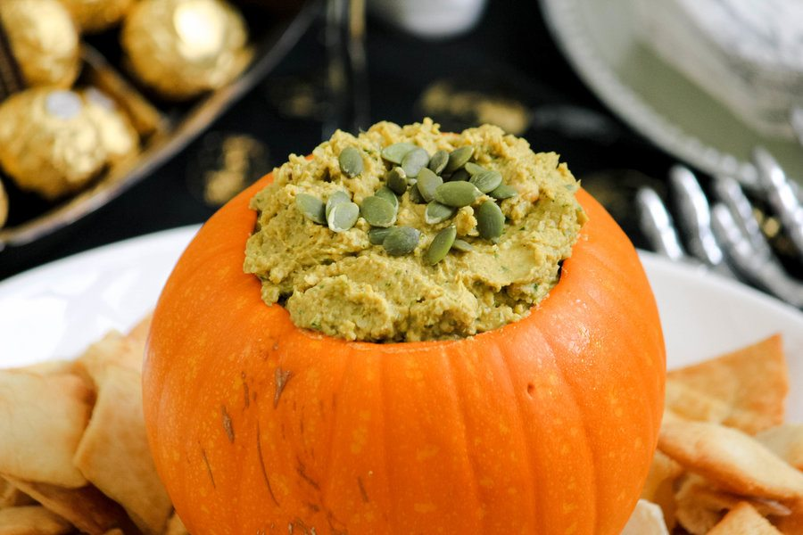 pumpkin hummus recipe with tahini
