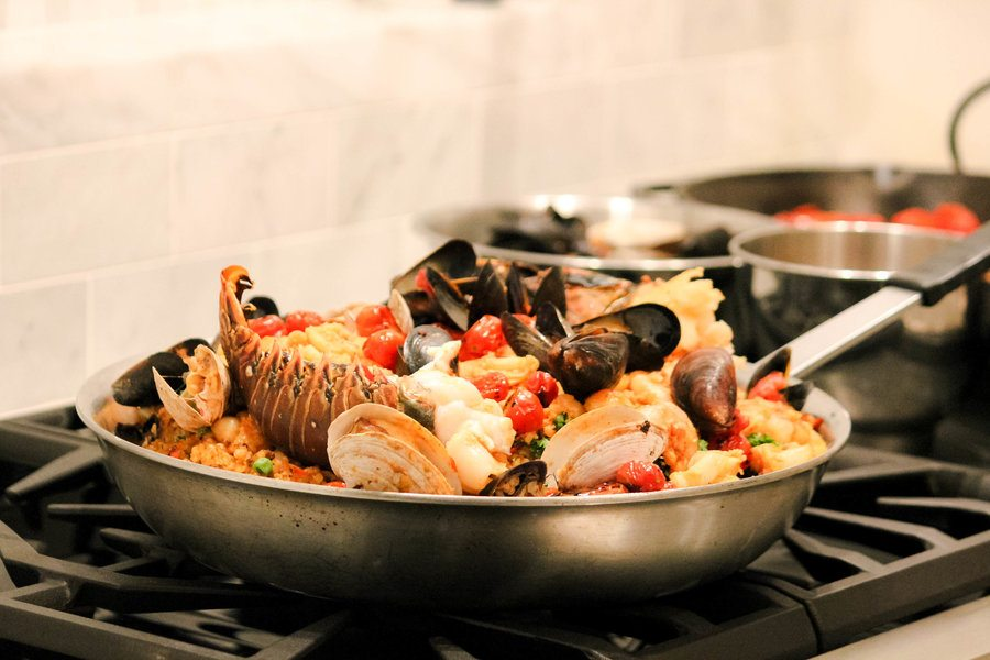 Party time seafood paella recipe forumfinder Choice Image