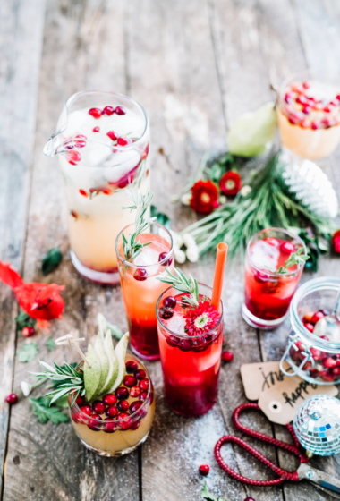 Cranberry and Pomegranate Red Punch Recipe