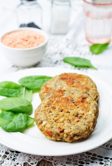 clean eating homemade veggie burgers