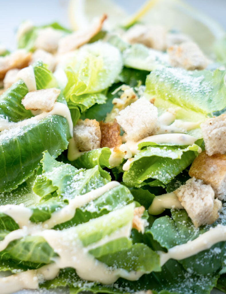 Caesar Salad Dressing Recipe No Mayo And Dairy Free Clean Cuisine