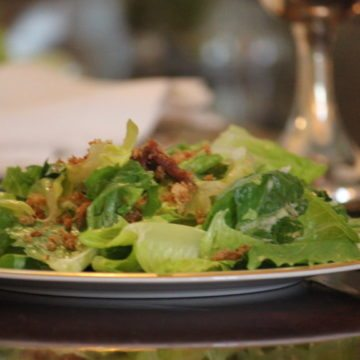 Clean Caesar Salad Dressing Recipe (No Mayo / No Egg)