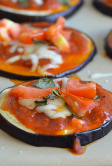 15 Minute Eggplant Pizza Recipe